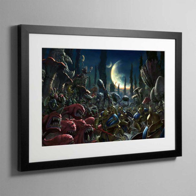 Gloomspite Gitz – Framed Print