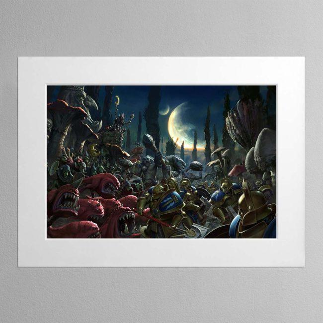 Gloomspite Gitz – Mounted Print