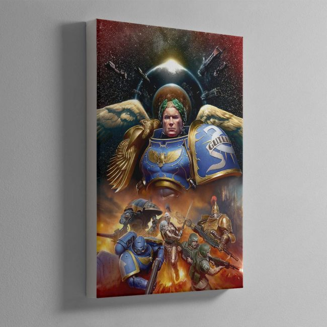 Roboute Guilliman, Primarch of the Ultramarines – Canvas
