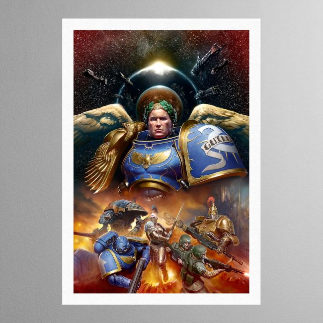Roboute Guilliman, Primarch of the Ultramarines – Print