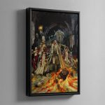 Witch Hunter – Framed Canvas