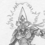 Howling Banshee Concept Sketch Detail 01