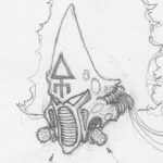 Howling Banshee Concept Sketch Detail 04