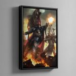 Phoenix Lord Asurmen – Framed Canvas