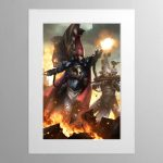 Phoenix Lord Asurmen – Mounted Print