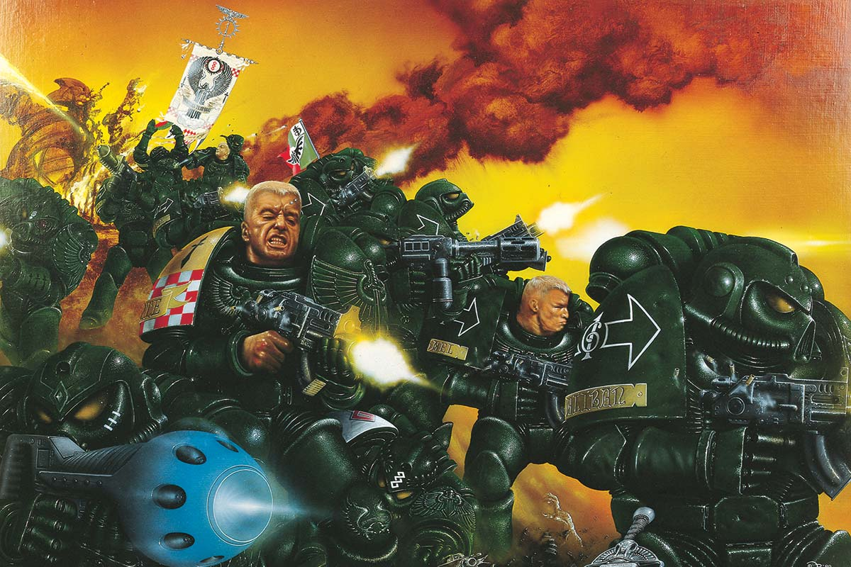 1989 Space Marine Box Cover