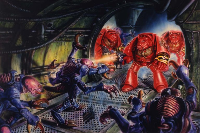 1st Edition Space Hulk Box Cover