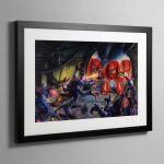 1st Edition Space Hulk Box Cover – Framed Print