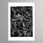 Space Marine Donning Terminator Armour – Print