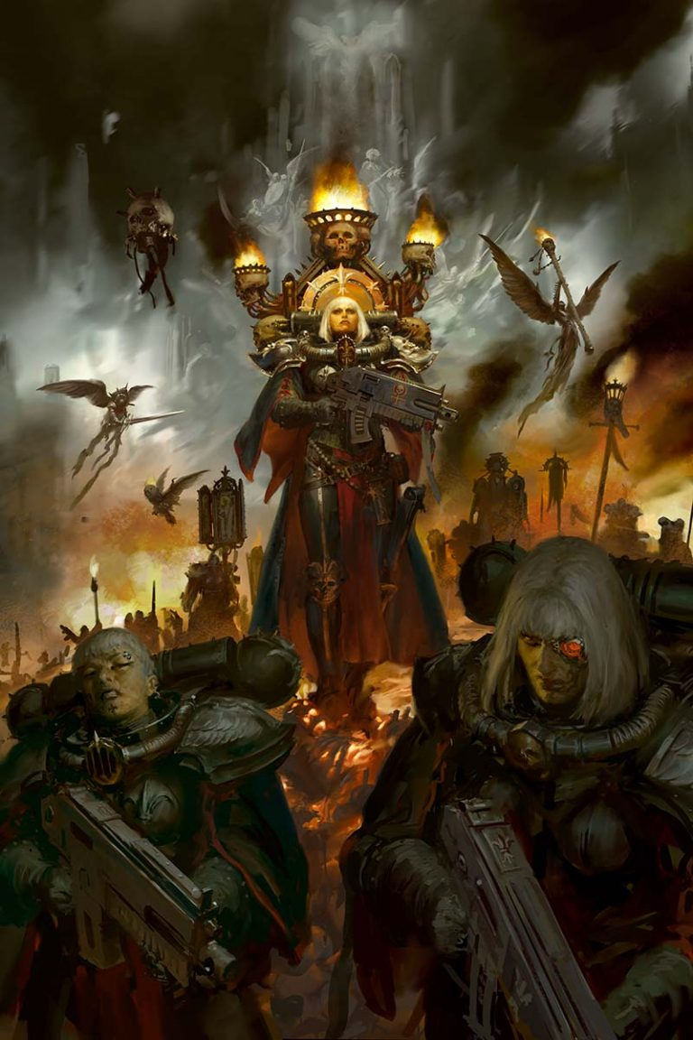 Sisters of Battle Codex cover 2019