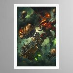 Arkanaut Iron Clad vs Bloodthirster – Print