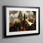 Army of the Ecclesiarchy – Framed Print