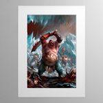 Ogor MawTribes – Mounted Print