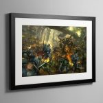 Prophecy of the Wolf Battlebox – Framed Print