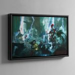 Soul Wars – Framed Canvas