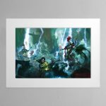 Soul Wars – Mounted Print