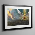 The Lost and the Damned – Framed Print