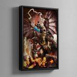 Archaon the Everchosen – Framed Canvas