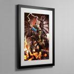 Archaon the Everchosen – Framed Print