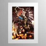 Archaon the Everchosen – Mounted Print