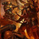 Ultramarine Bladeguard Veterans vs Chaos Lord