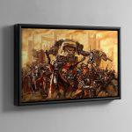 Skitarii Force – Framed Canvas