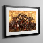 Skitarii Force – Framed Print