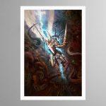 Yndrasta – The Celestial Spear – Print