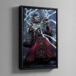 Corpuscarii Electro-Priest – Framed Canvas