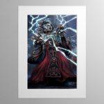 Corpuscarii Electro-Priest – Mounted Print